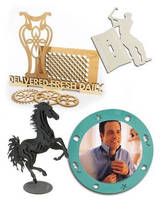 CNC Laser Cutting Offers Low Cost Manufacturing of Ornamental, Decorative, and Artistic Products