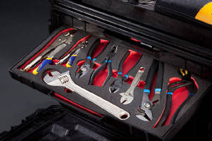 Foam Inserts facilitate tool storage.