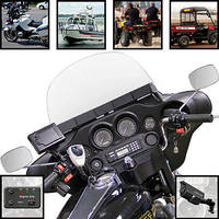 Digital Video System mounts in cars/motorcycles/watercraft.