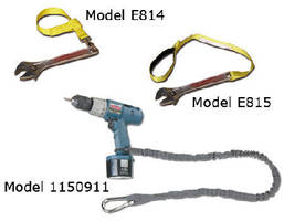 Safety Straps prevent tool falls and subsequent damage.