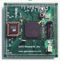 DSP Development Board is designed as daughter card.