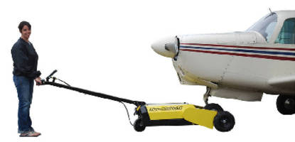 Electric Aircraft Tug pulls up to 15,000 lb.