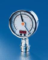 Pressure Transmitter has gauge display, numeric indication.