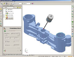 3D Inspection Software verifies on-machine parts
