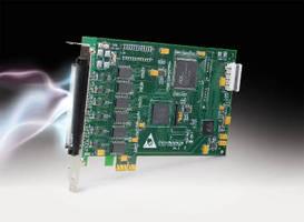 Digital I/O Board supports PCI Express bus.