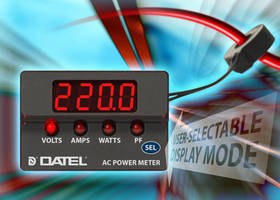 AC Power Meters deliver multifunctional operation.