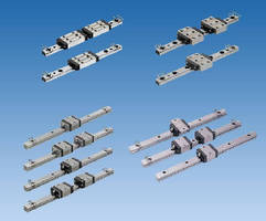 Miniature Linear Guides suit motion control machinery.