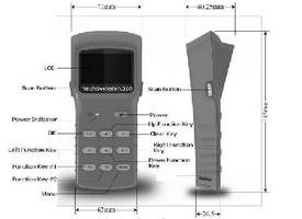 UHF RFID Handheld Device features Bluetooth interface.