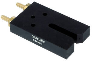 Lubrication Nozzle optimizes spray performance.