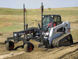 Grader Attachments have blades that move 6 different ways