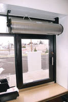 Air Curtain is designed for restaurant drive-through windows.