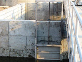 Stainless Steel Sluice Gate has tapered wedge design.