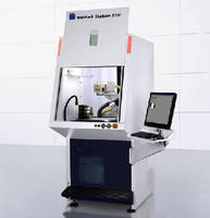 Laser Marking Station features ergonomic design.