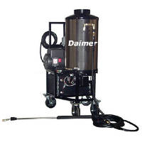 Commercial Pressure Washers feature automatic shut-off.
