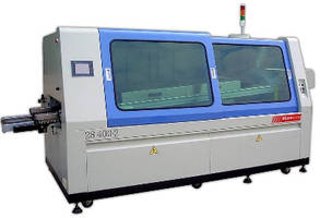 Wave Solder Machine handles Pb-free and tin-lead processing.