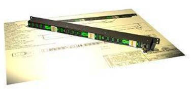 Power Strip distributes 400 Vdc to up to 12 appliances.