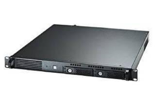 Industrial PC features 1U rackmount design.