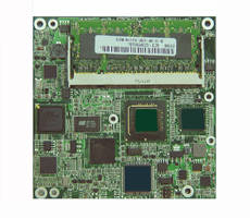 COM Express Module features 2 LAN and 2 Gb memory.