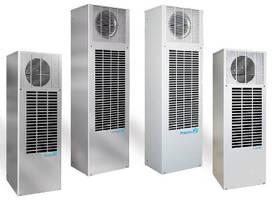 Side-Mount AC Units keep electonics cabinets cool.
