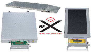 Wireless Scales accommodate large, complex applications.