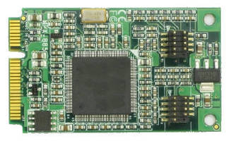Mini-PCIe Video Capture Card has flexible video input MUX.