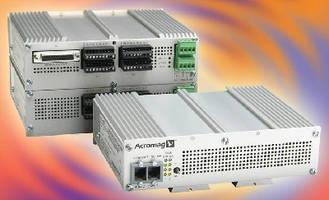 Analog Output Units drive voltage/current control signals.