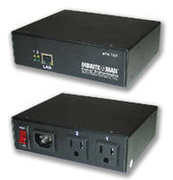 IP-Addressable Device provides remote power management.