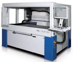 CNC Machining System accommodates large-format workpieces.