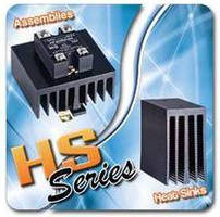 Heat Sinks/Relays combine into 10-82.5 A rated assemblies.