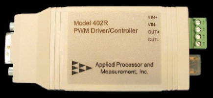 PWM Driver/Controller has RS-232 serial interface.
