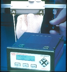 Ultrasonic Flowmeter measures high-purity fluids.