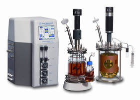 Fermentor/Bioreactor is available with 1.3-14 L capacities.