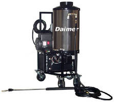Electric Pressure Washers incorporate wet steam technology.