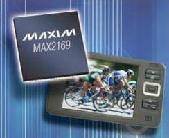 Multimode Silicon Tuner targets mobile TV applications.