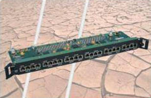 T1/E1/J1 Port Card expands capabilities of GLX4000 switch.