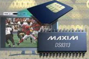Smart-Card Interface features 10 nA stop-mode current.