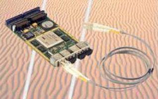FPGA Module features fiber-optic transceivers.