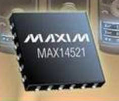 Quad-Output EL Lamp Driver incorporates I²C interface.