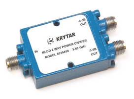 Krytar 6030400 & 6030400K MLDD 2-Way Power Dividers, 3-40 GHz