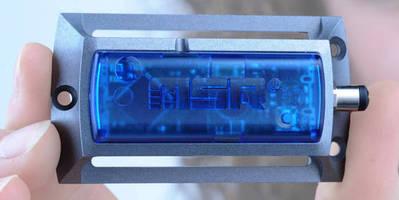 Mini Shock/Vibration Logger takes 1,000 measurements/sec.