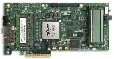 FPGA Development Kit accelerates 3 Gbps evaluations.