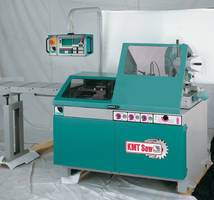 Automatic Saw is designed for high production rates.