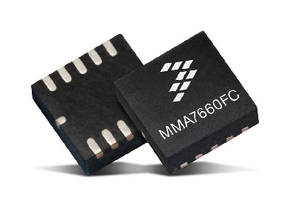 Mouser Electronics First to Stock Freescale MMA7660FC Accelerometer