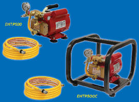 Electric Hydrostatic Test Pumps