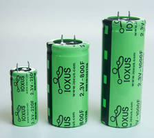 Ultracapacitors/Power Modules optimize energy storage.