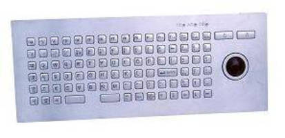 Compact Keyboard has full layout, number pad, function keys.