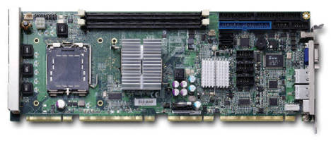 PICMG 1.3 SHB features Intel® Q45 Express Chipset.