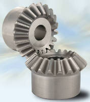 Stainless Steel Miter Gears from QTC Are Stocked in 10 Sizes in Modules 1~3