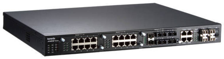 Ethernet Switch suits power substations/control rooms.