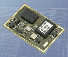 GPS Receiver Module utilizes AEC-Q compliant components.